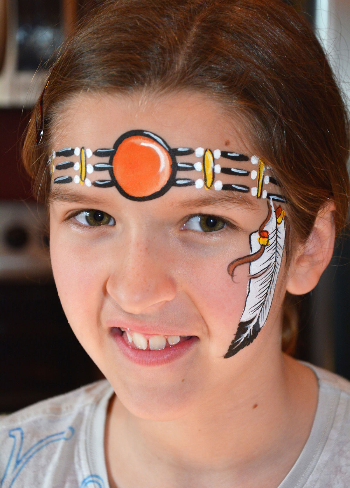 Aboriginal Face Painting Ideas