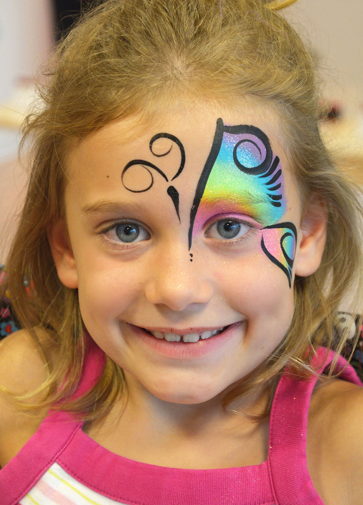 Adult Butterfly Face Paint